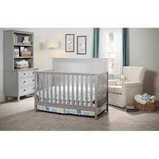 Delta Children Epic 4 in 1 Convertible Crib Gray Walmart