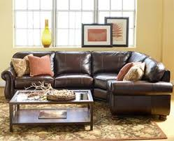 thomasville leather sectional. Plain Leather Thomasville Benjamin Sectional Sofa Looks Nice And Even Has A Recliner  Built In At Both Ends To Leather E