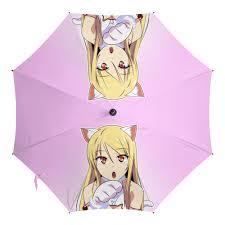 <b>Зонт</b>-<b>трость с деревянной</b> ручкой Кошечка из Сакурасо #2450163