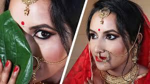 bengali bridal makeup tutorial indian bride 2018 image