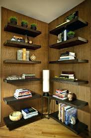 custom bookcases los angeles corner of a room built up with floating shelves to resemble bookcase custom bookcases los angeles