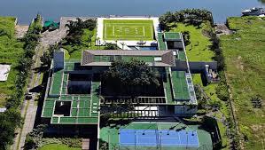 plus belles maisons de footballeurs