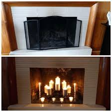 tall candle holders fireplace for fireplaces with nice before after decoration holder w tall candle holders for fireplace