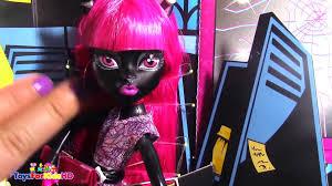 muñeca monster high catty noir muñeca monster high en español monster high doll video dailymotion