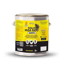 Caixa com 40 unidades (2 caixas com 20 unidades) medidas da folha: Cola Quente Pega Ratos 3 Kgs Albrasil