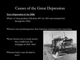 causes of the great depression essay cf causes of the great depression essay