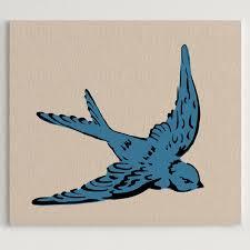 swallow two layer stencil stencil 1