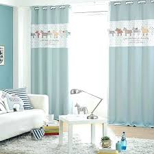 Nursery curtains boys Pencil Pleat Baby Room Curtains Baby Curtains Baby Blue Animal Print Color Block Poly Cotton Blend Nursery Curtains Baby Room Curtains 1915rentstrikesinfo Baby Room Curtains Baby Room Curtains Ideas Monkey Curtains For Baby