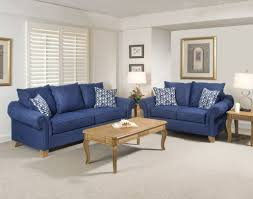 Navy Blue Living Room Set Living Room Navy Blue Faux Leather Sectional Sofa Square Nice