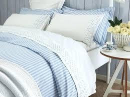 blue striped bedding ticking