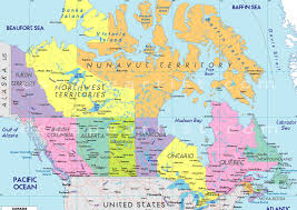 download map of canada with labels  major tourist attractions maps