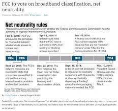 fcc to vote on broadband classification net neutrality chris powers fcc to vote on broadband classification net neutrality