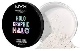 NYX professional makeup <b>Пудра Holographic</b> Halo <b>рассыпчатая</b> ...