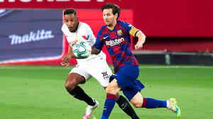 Sevilla vs barcelona highlights and full match competition: Sevilla Fc Vs Barcelona Football Match Summary June 19 2020 Espn