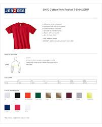 Jerzees 50 50 T Shirt Size Chart Jerzees Mens Five Point Left Chest Pocket T Shirt At Amazon