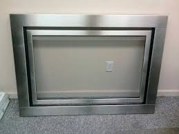 stainless steel fireplace surround photo of all spec sheet metal ca united states stainless steel stainless