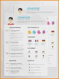 Free Infographic Resume Template Download Printables And Menu