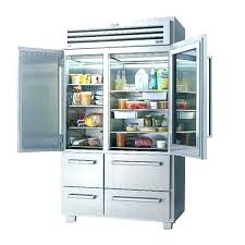 glass door refrigerators residential freezer refrigerator stainless steel front