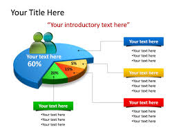 Pie Chart Powerpoint Powerpoint Slide Chart Pie Chart 3d Multicolor 4