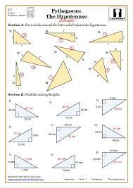 Pythagoras Worksheets | Pythagorean Theorem Worksheets