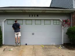Faux Garage Door Windows Best Faux Garage Door Ideas