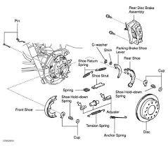 power brake unit toyota sequoia 2001 repair toyota service blog 2007 Toyota Corolla Front Diagram toyota highlander parking brake diagram 2009 Toyota Corolla Diagram