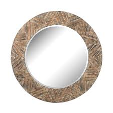round wood mirror with regard to large frame wicker reviews allmodern plans 13