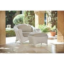 Martha Stewart Living Room Furniture Martha Stewart Living Lake Adela Bone 2 Piece Patio Lounge Chair