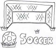 Soccer Coloring Pages For Kids Printable Coloringstar