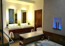 Image Modern Bathroom Mirrors Annieflee Astounding Strip Light Behind Mirror Delectable Formal