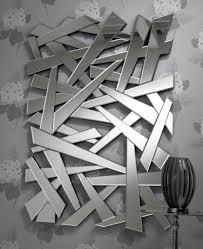 Broken Mirror Wall Art Large Rectangular Shattered Glass Effect Mirror Mh Shatters