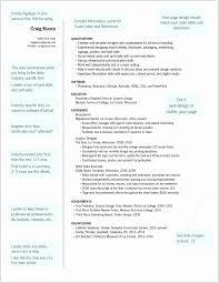 Eye Catching Resume Templates Unique Graphic Designer Resume Format