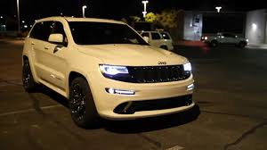 Unloading new 2014 Jeep Grand Cherokee SRT! 04/19/2013 - YouTube