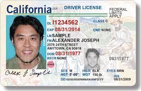 California New License Driver's Id Real Debuts Dmv
