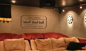 popular homely ideas theater wall decor or home plaques signs with home theater wall art