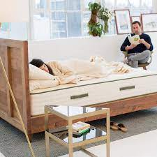 Reclaimed Wood Natural Bed Frames Avocado Green Mattress