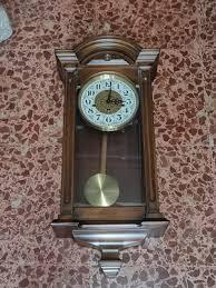 italian pendulum wall clock from astro