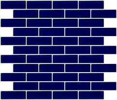 dark blue tiles. Interesting Tiles 1x3 Inch Navy Blue Glass Subway Tile Intended Dark Tiles