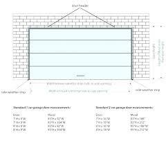 double garage door size how wide is a double garage door single header size ideas standard
