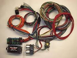21 circuit 20 fuse universal hot rod car wiring harness hot rod wires instructions at Universal Street Rod Wiring Harness