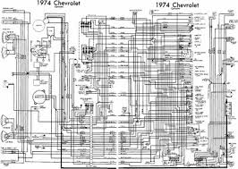 chevrolet corvette 1974 complete electrical wiring diagram all chevrolet corvette 1974 complete electrical wiring diagram