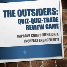 The Outsiders Quotes And Characters Quiz Quiz Trade TpT Enchanting The Outsiders Quotes
