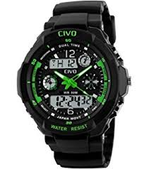 sport watch by civo men s multifunctional military waterproof civo mens boys digital watches 50m electronic waterproof military sports watch simple fashion design led divers