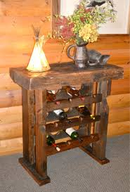 Reclaimed Wood Wine Cabinet Reclaimed Barnwood Wine Rack Rustic Furniture Mall By Timber Creek