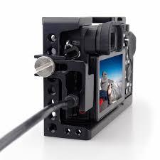 MAGICRIG Khung Máy Ảnh với Cáp HDMI Kẹp cho Sony A6400/A6000/A6300/A6500 để  Gắn Micro Đèn Flash ánh sáng Màn Hình|stabilizer for cameras|stabilizer for  dslrstabilizer camera - AliExpress
