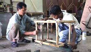how to make bamboo furniture. Youth Carpenters Making Wood \u0026 Bamboo Furniture How To Make