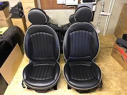 heated lounge leather seats r56 mini one cooper cooper s jcw