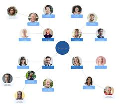 Org Chart With Photos Online Diagram Software Visual Solution Lucidchart