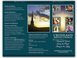 Church Program Template 10 Popular Church Brochure Templates Design Free Psd Jpeg Eps