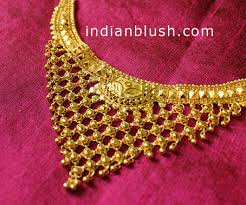 anjali jewellers gold wedding collection. bengali gold necklace for women anjali jewellers wedding collection